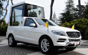 Mercedes Benz Popemobile